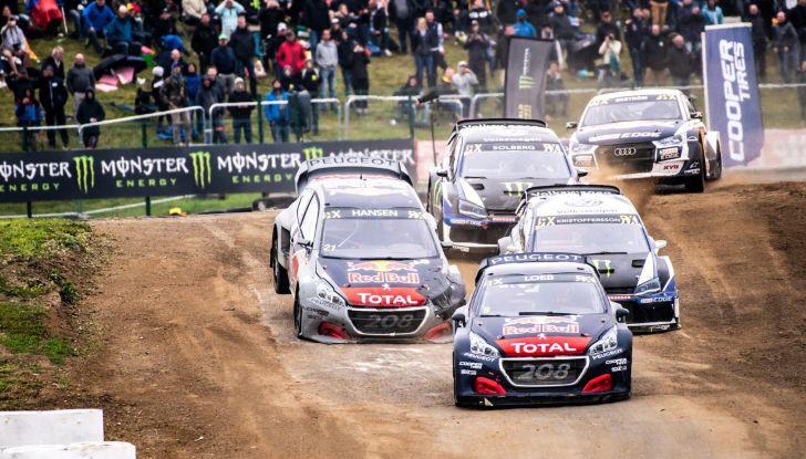 Doppio podio Peugeot nella gara belga del WRX 2018 - Foto  di