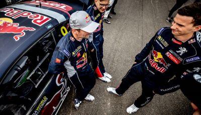 Ottimo terzo posto per Timmy Hansen (Team Peugeot Total) nel WRX