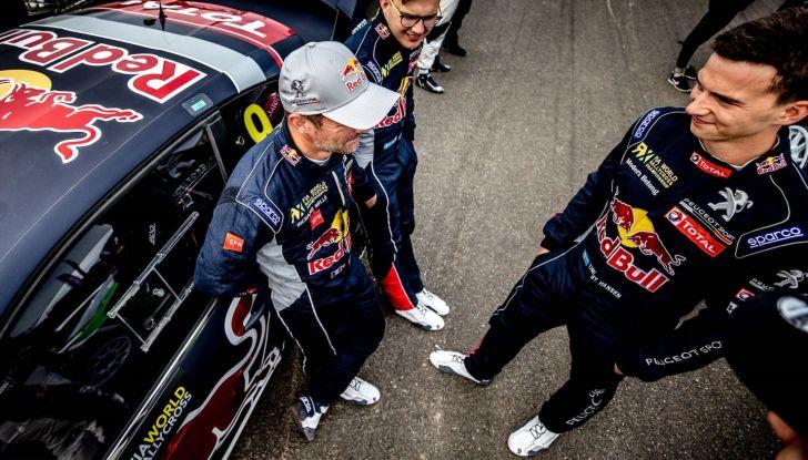 Ottimo terzo posto per Timmy Hansen (Team Peugeot Total) nel WRX - Foto  di