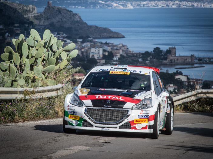 Peugeot sul secondo gradino del podio al Targa Florio 2018 - Foto 5 di 6