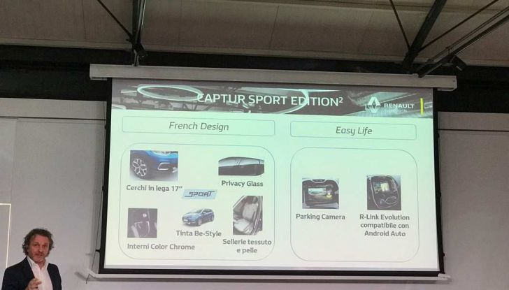 Renault Captur Sport Edition completa la gamma crossover del marchio francese - Foto 15 di 18