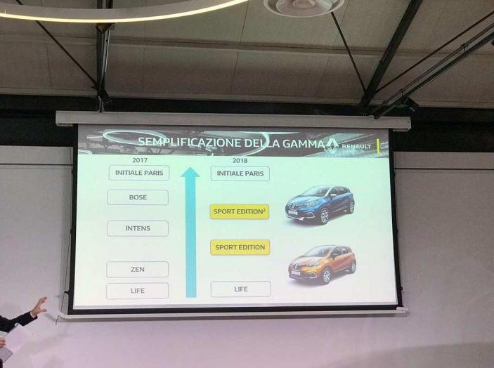 Renault Captur Sport Edition completa la gamma crossover del marchio francese - Foto 12 di 18