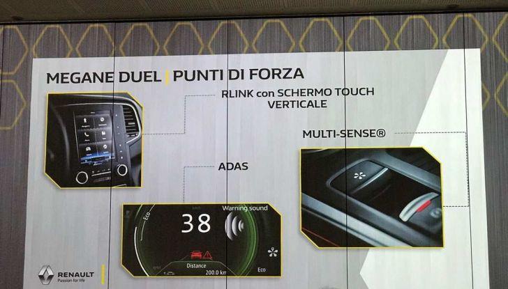 Renault Megane DUEL e DUEL2, i nuovi livelli della gamma berline - Foto 20 di 20