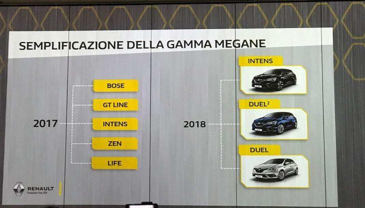 Renault Megane DUEL e DUEL2, i nuovi livelli della gamma berline - Foto 12 di 20