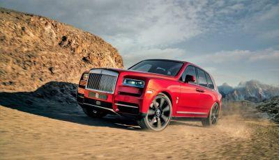 Rolls-Royce Cullinan, il suv più lussuoso del mondo