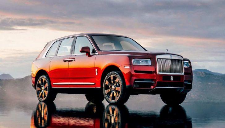 Rolls-Royce Cullinan, il suv più lussuoso del mondo - Foto 9 di 14