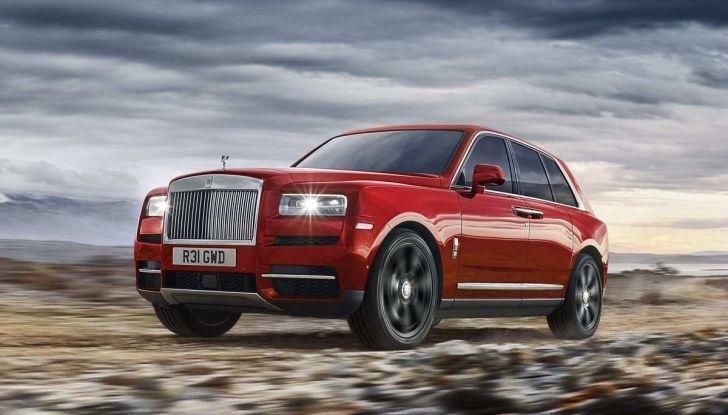 Rolls-Royce Cullinan, il suv più lussuoso del mondo - Foto 12 di 14