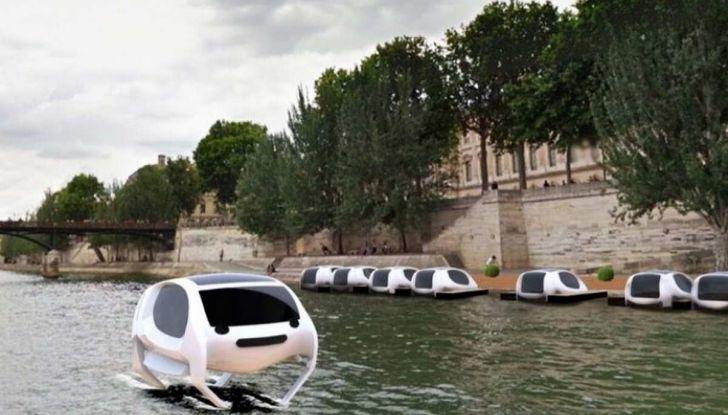 Sea Bubble, l'auto elettrica che corre sull'acqua di fiumi e laghi - Foto 2 di 9
