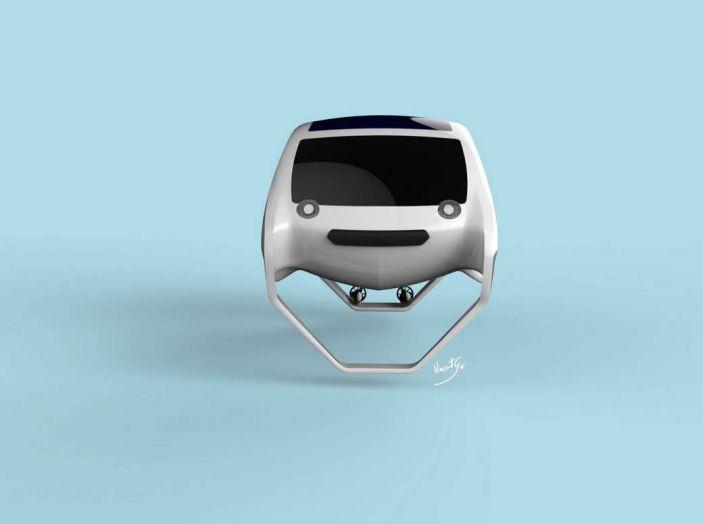Sea Bubble, l'auto elettrica che corre sull'acqua di fiumi e laghi - Foto 4 di 9