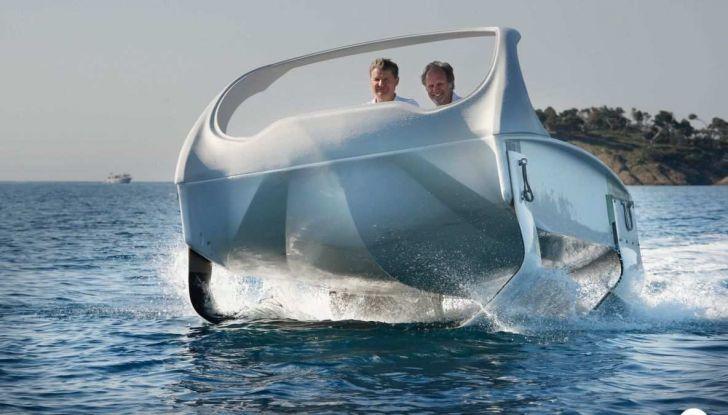 Sea Bubble, l'auto elettrica che corre sull'acqua di fiumi e laghi - Foto 6 di 9
