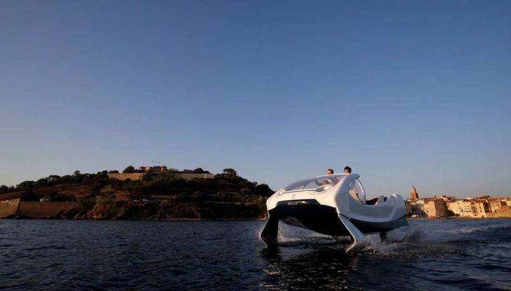 Sea Bubble, l'auto elettrica che corre sull'acqua di fiumi e laghi - Foto 7 di 9