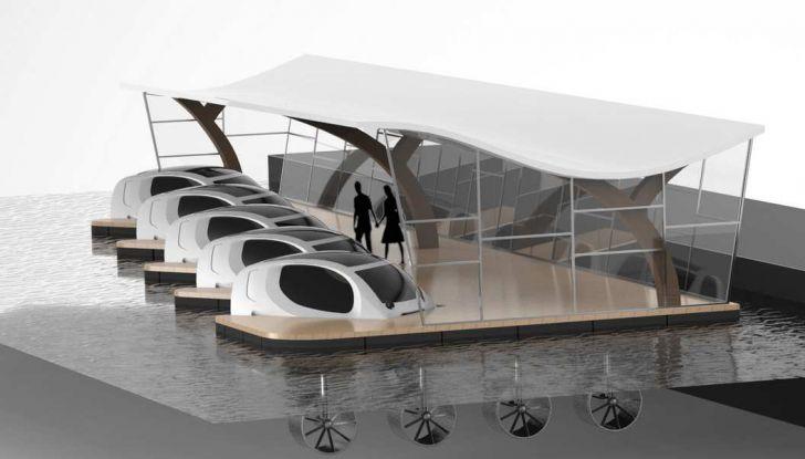 Sea Bubble, l'auto elettrica che corre sull'acqua di fiumi e laghi - Foto 8 di 9