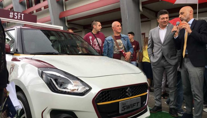 Suzuki si conferma sponsor del Torino Calcio - Foto 5 di 6