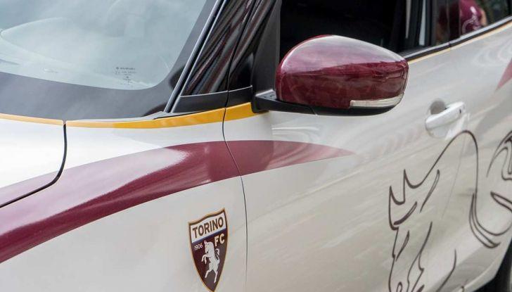 Suzuki SWIFT Toro Edition per Walter Mazzarri, allenatore del Torino - Foto 6 di 6