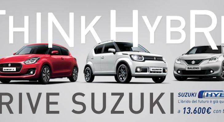 Gamma Suzuki hybrid, porte aperte il 26 e 27 gennaio - Foto 5 di 7
