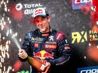A Silverstone nuovo podio WRX per Sebastien Loeb e per il Team Peugeot Total