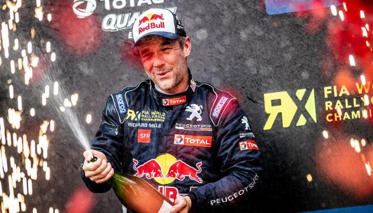 A Silverstone nuovo podio WRX per Sebastien Loeb e per il Team Peugeot Total - Foto 1 di 3