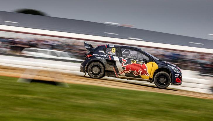 Sebastien Loeb (Peugeot 208 WRX) soddisfatto del podio in UK - Foto 2 di 2