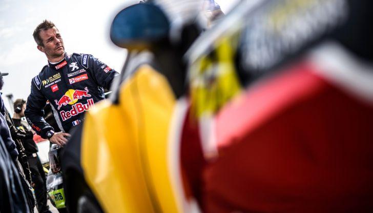 Sebastien Loeb (Peugeot 208 WRX) soddisfatto del podio in UK - Foto 1 di 2