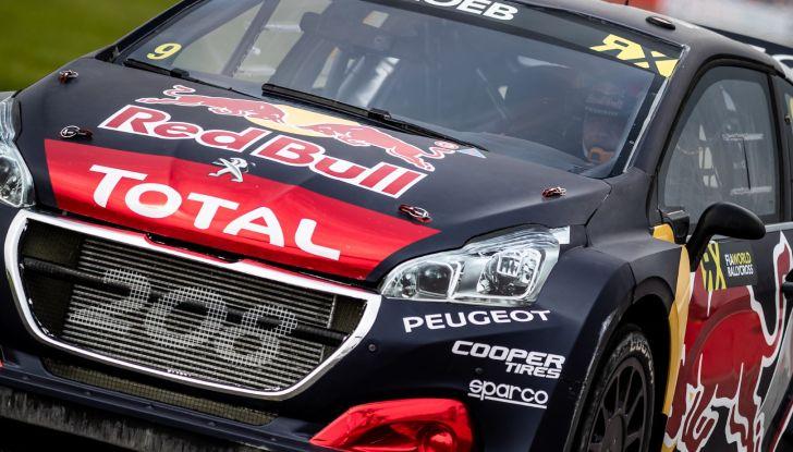 A Silverstone nuovo podio WRX per Sebastien Loeb e per il Team Peugeot Total - Foto 2 di 3