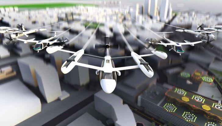 I taxi volanti di Uber in funzione dal 2023 - Foto 5 di 8