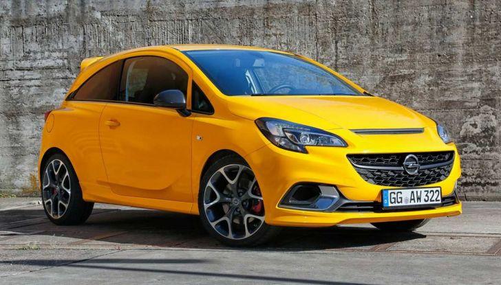 Opel Corsa GSi 2018: la compatta ritorna sportiva a 19.960€ - Foto 2 di 6