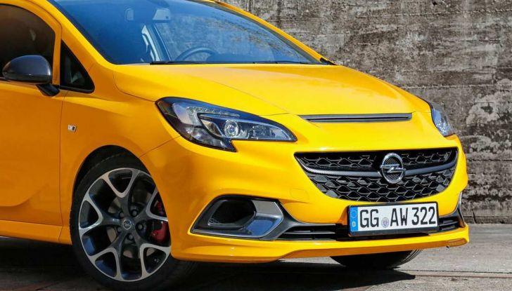 Opel Corsa GSi 2018: la compatta ritorna sportiva a 19.960€ - Foto 4 di 6