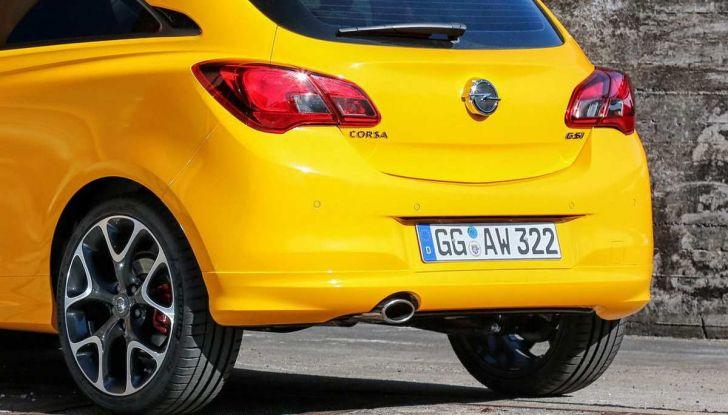 Opel Corsa GSi 2018: la compatta ritorna sportiva a 19.960€ - Foto 5 di 6