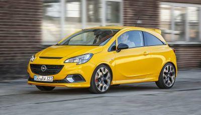 Opel Corsa GSi 2018: la compatta ritorna sportiva a 19.960€
