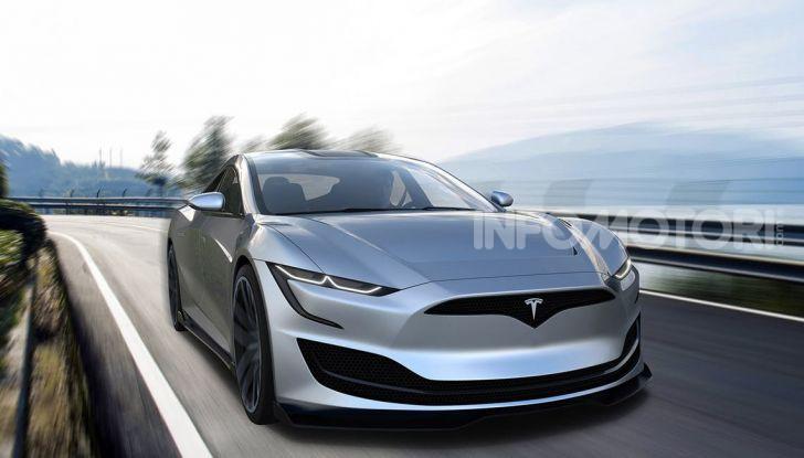 La Tesla Roadster 2 batte la Ferrari F1 2019 in una Drag Race al Sym - Foto 13 di 13