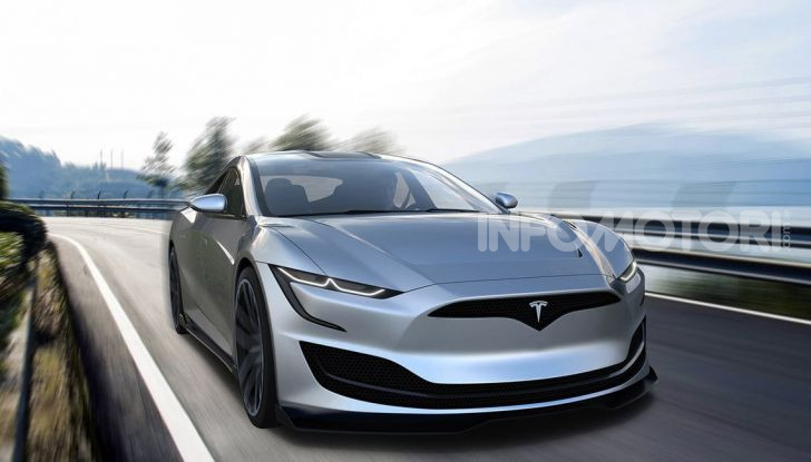 Tesla Roadster 2020 con speciale allestimento SpaceX Package - Foto 13 di 13