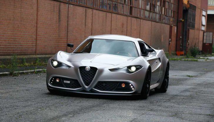 Alfa Romeo 4C Mole Costruzione Artigianale 001, la one-off di Up Design - Foto 1 di 9