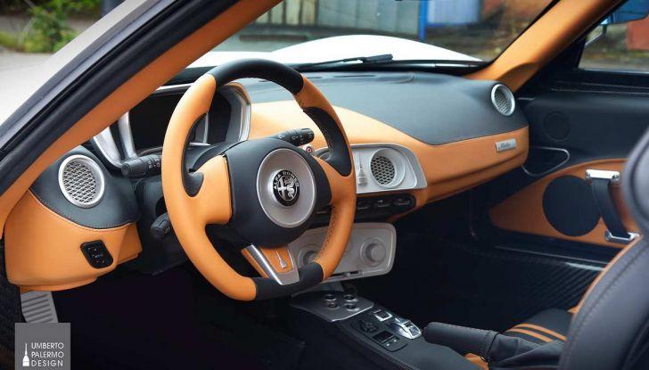 Alfa Romeo 4C Mole Costruzione Artigianale 001, la one-off di Up Design - Foto 5 di 9
