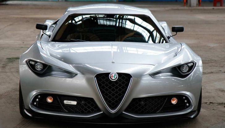 Alfa Romeo 4C Mole Costruzione Artigianale 001, la one-off di Up Design - Foto 6 di 9
