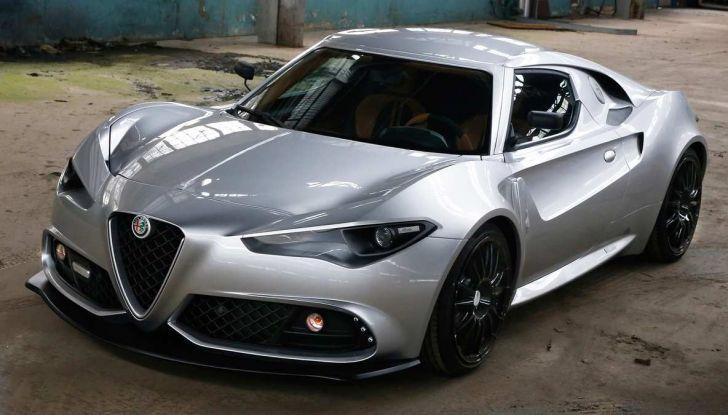 Alfa Romeo 4C Mole Costruzione Artigianale 001, la one-off di Up Design - Foto 4 di 9