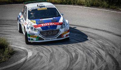 Rally San Marino – pregara del Team Peugeot Sport Italia