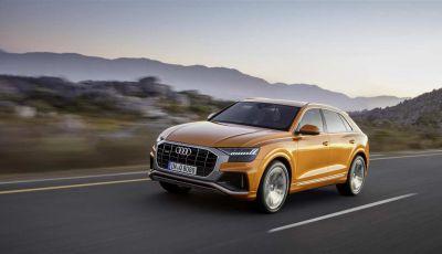 Audi Q8 2018: design, motori e caratteristiche