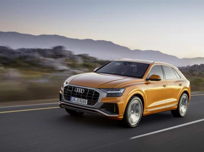 Audi Q8 2018: design, motori e caratteristiche - Foto 1 di 10