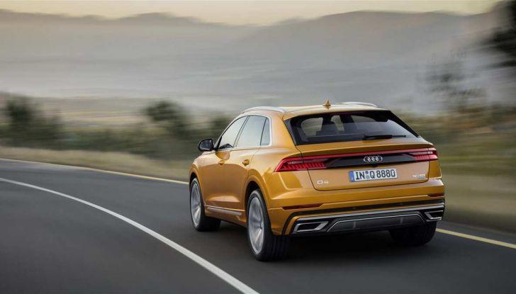 Audi Q8 2018: design, motori e caratteristiche - Foto 2 di 10