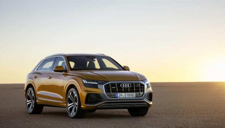 Audi Q8 2018: design, motori e caratteristiche - Foto 3 di 10