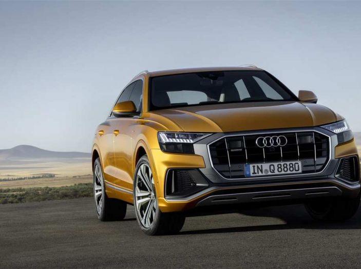 Audi Q8 2018: design, motori e caratteristiche - Foto 4 di 10