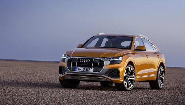 Audi Q8 2018: design, motori e caratteristiche - Foto 5 di 10