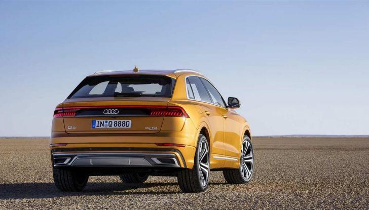 Audi Q8 2018: design, motori e caratteristiche - Foto 6 di 10