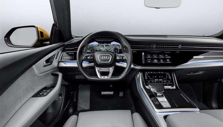 Audi Q8 2018: design, motori e caratteristiche - Foto 7 di 10