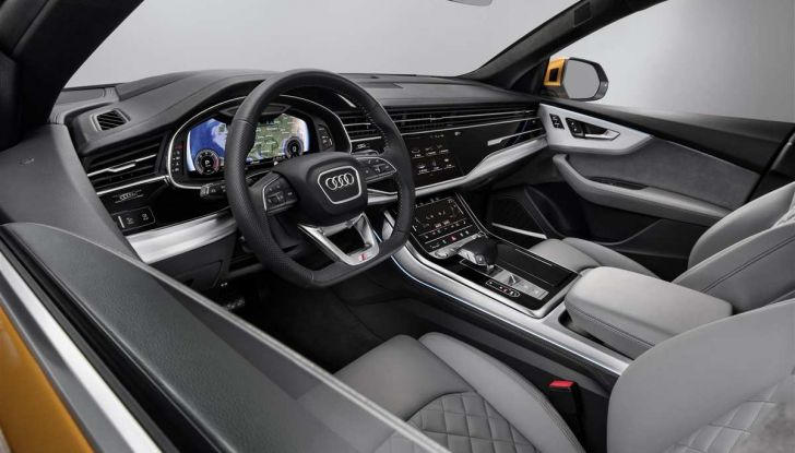 Audi Q8 2018: design, motori e caratteristiche - Foto 8 di 10
