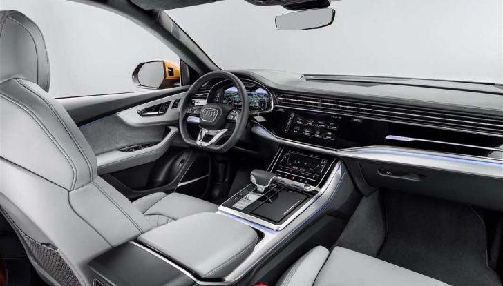 Audi Q8 2018: design, motori e caratteristiche - Foto 9 di 10