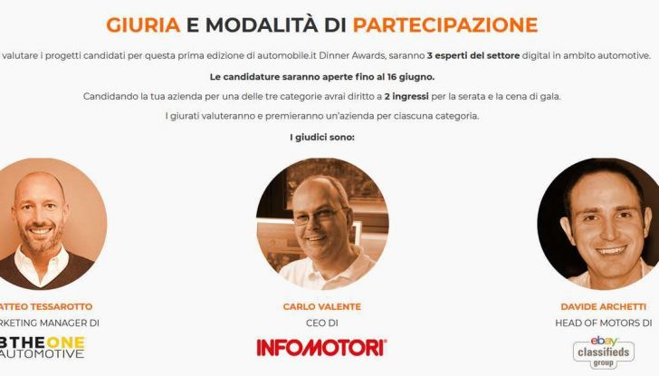 Automobile.it Dinner Awards premia i migliori Concessionari Auto - Foto 5 di 8