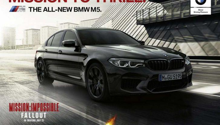 BMW M5 protagonista di Mission: Impossible – Fallout con Tom Cruise - Foto 5 di 5