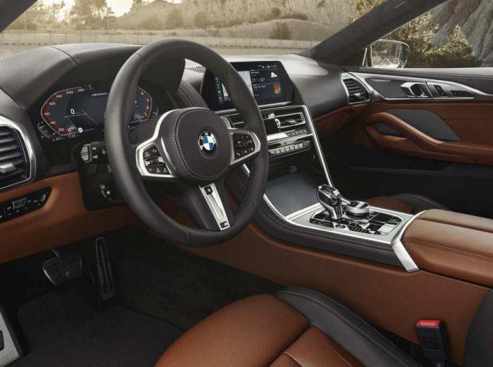BMW Serie 8 Coupè 2018 al debutto con 530 CV - Foto 7 di 11