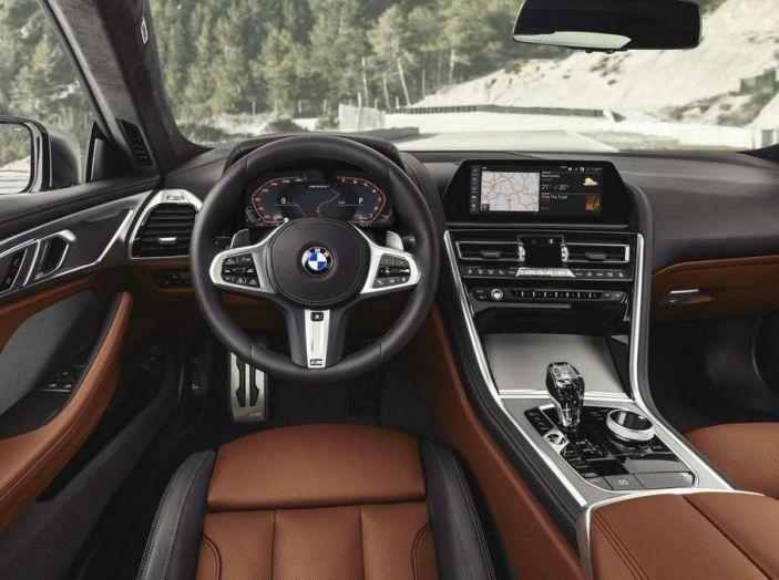 BMW Serie 8 Coupè 2018 al debutto con 530 CV - Foto 8 di 11